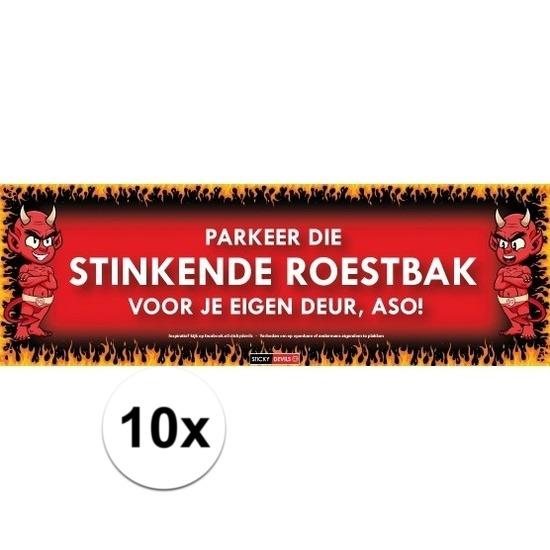10x Sticky Devil Parkeer die stinkende roestbak