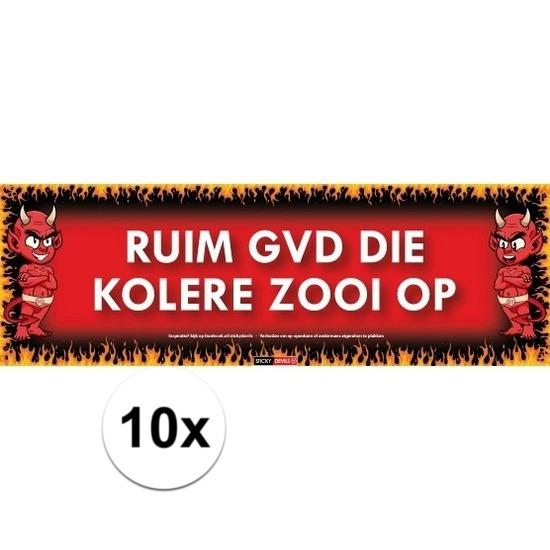 10x Sticky Devil Ruim gvd die kolere zooi op