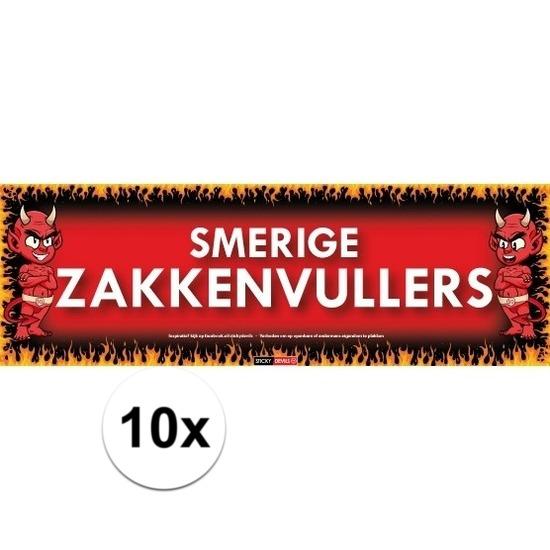 10x Sticky Devil Smerige zakkenvullers