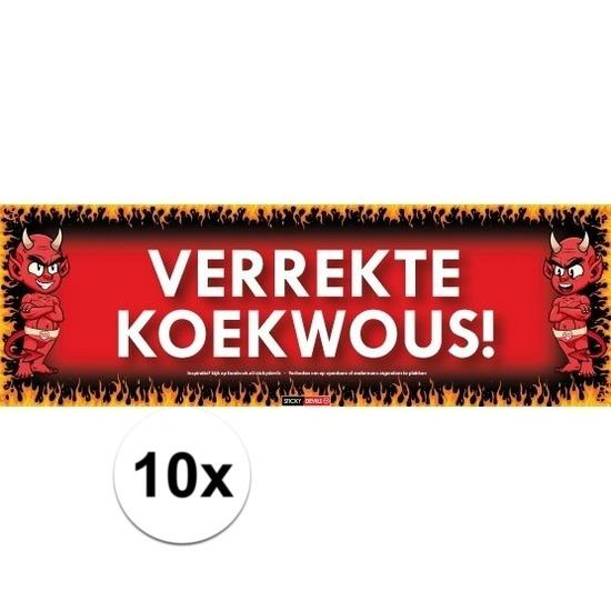 10x Sticky Devil Verrekte koekwous!