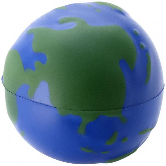 10x stuks Stressballen globe/wereldbol/de aarde 6.7 cm