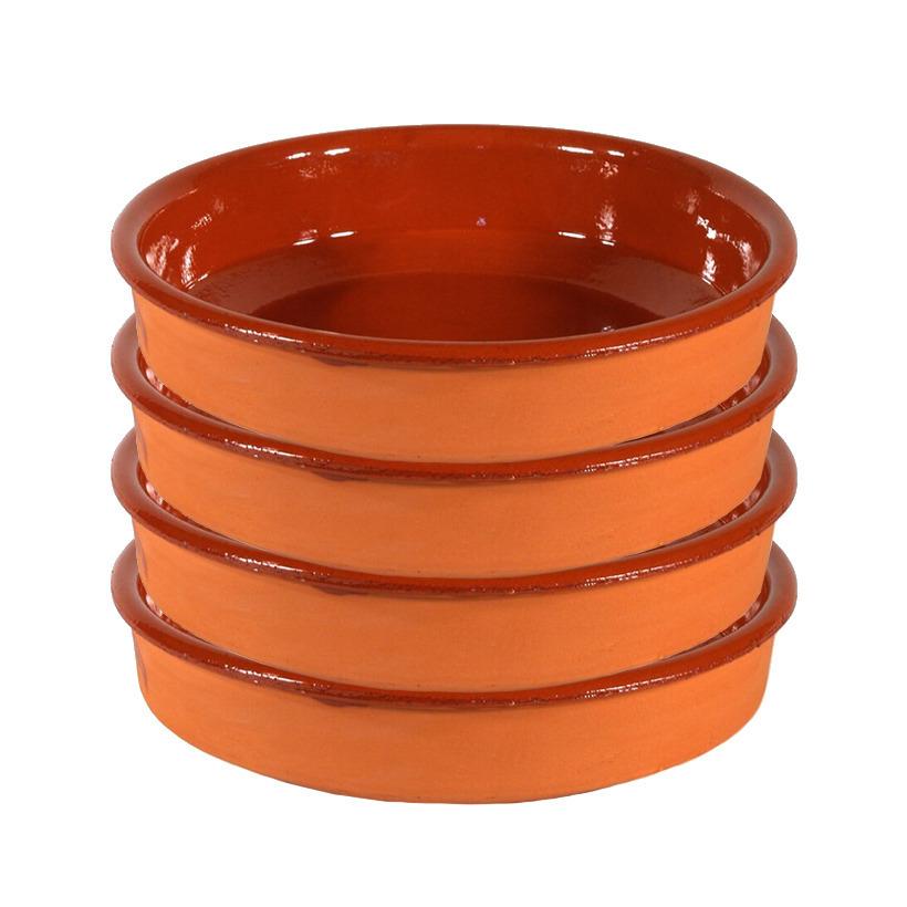 10x Tapas borden/schalen Sevilla 21 cm