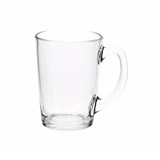 12x Thee glazen-bekers basic 320 ml