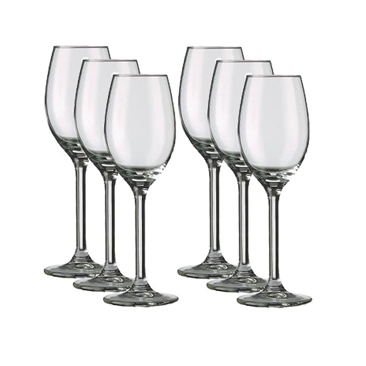 18x Port-sherryglazen transparant 140 ml Esprit
