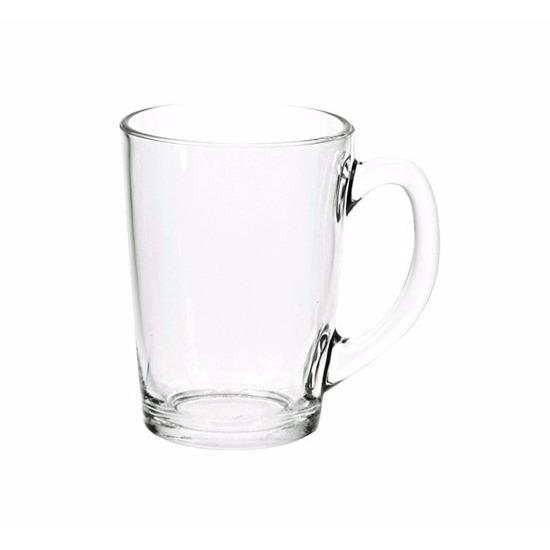 18x Thee glazen-bekers basic 320 ml