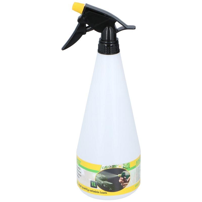 1x Sproeifles plantenspuit inhoud 1 liter