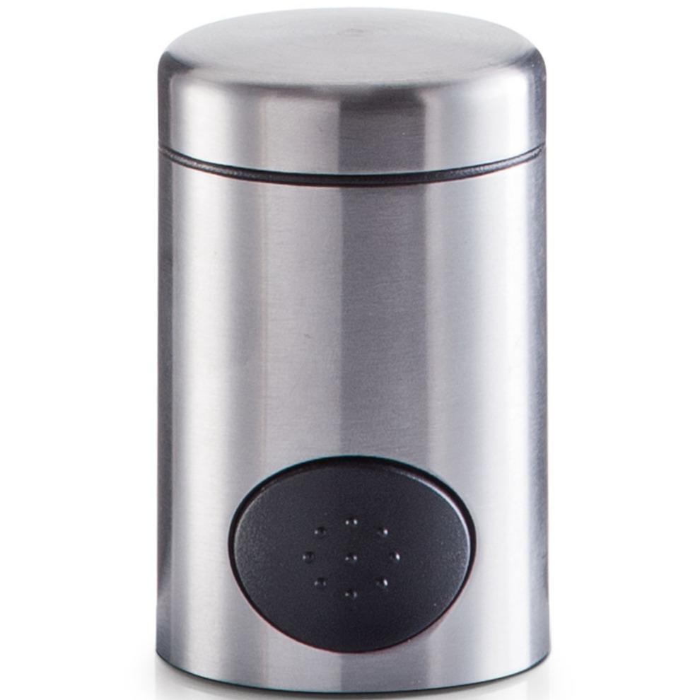 1x Zoetjes dispenser 8,5 cm RVS