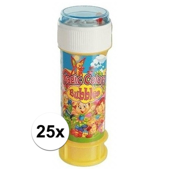 25x Bellenblaas met spelletje 60 ml