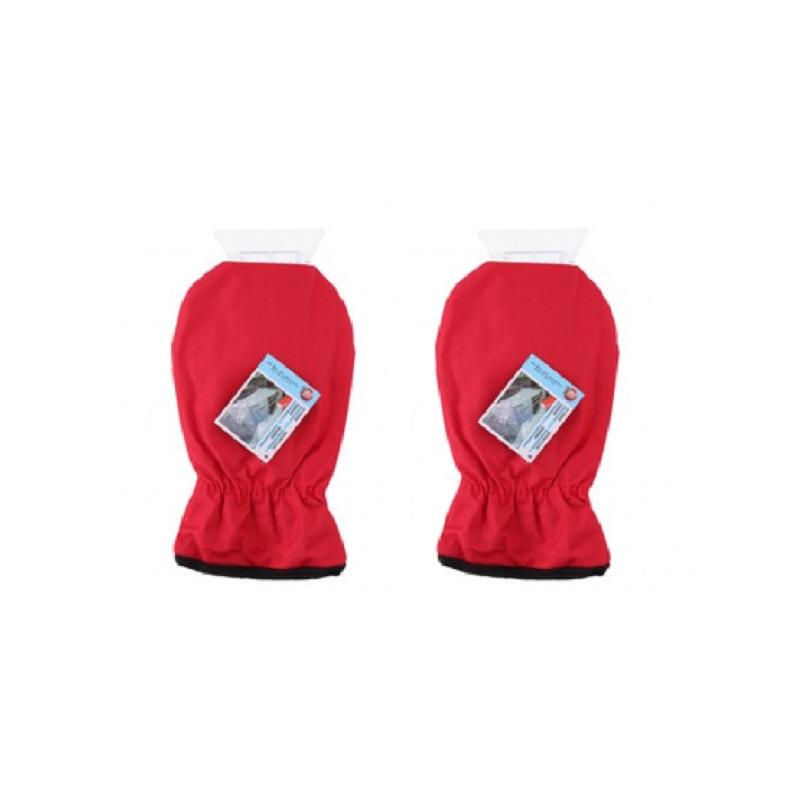Alrides 2x IJskrabbers met rode handschoen -
