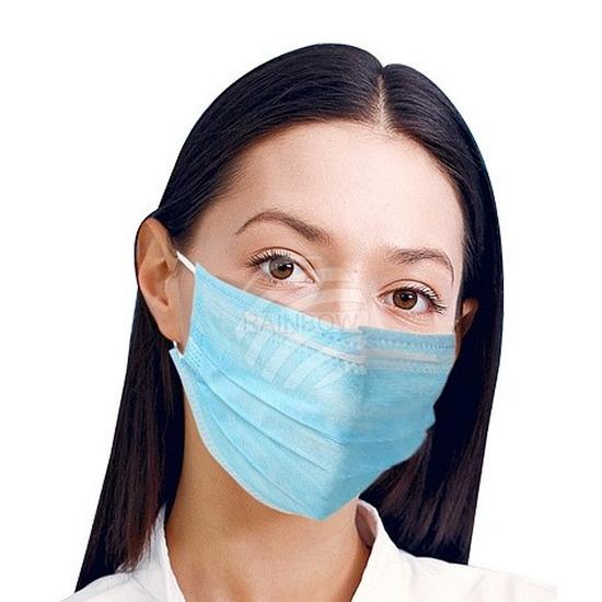 2x zusters/dokters/Chirurg verkleed mondkapjes
