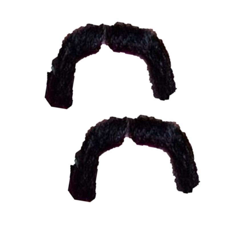 3x stuks zwarte Mexicaanse verkleed nepsnor