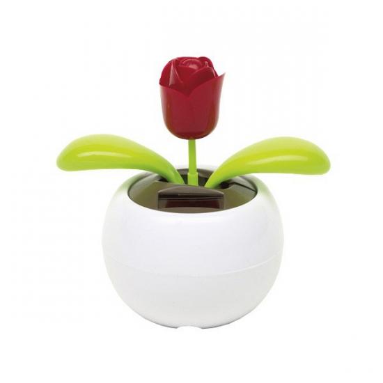 4x Bewegende rozen op zonne energie