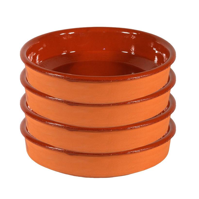 8x Tapas borden/schalen Sevilla 24 cm