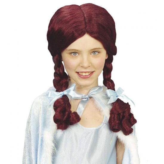 Alice verkleed pruik voor kinderen