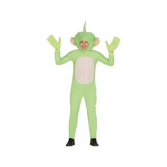 Alien kostuum groen voor volwassenen