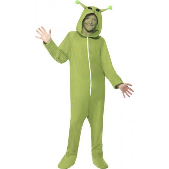 Alien onesie voor kinderen
