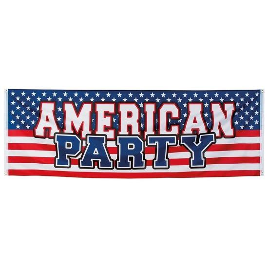 Amerikaanse party banier 2,2 meter Amerika USA