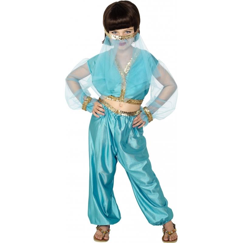 Arabische prinses kostuum voor meisjes
