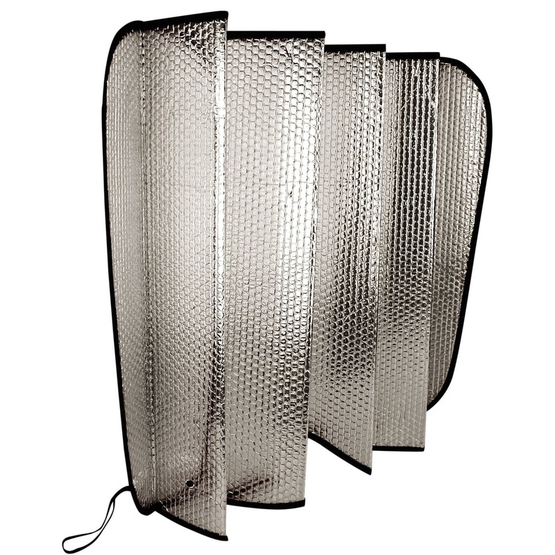 Auto anti-vorst/zonnescherm 130 x 60 cm