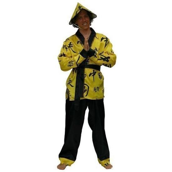 Aziatisch verkleed kostuum voor heren