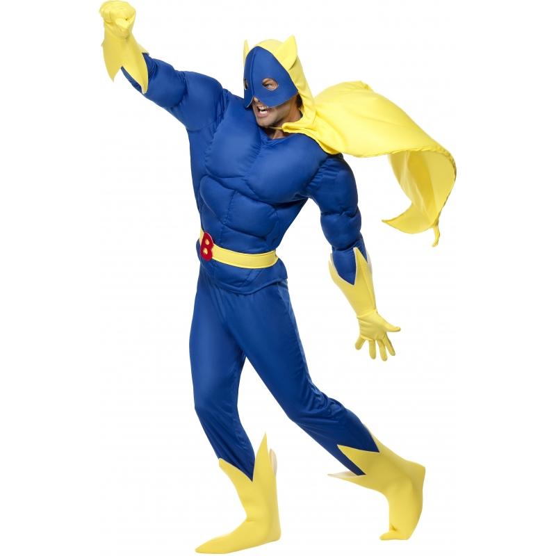 Bananaman verkleed kostuum voor heren