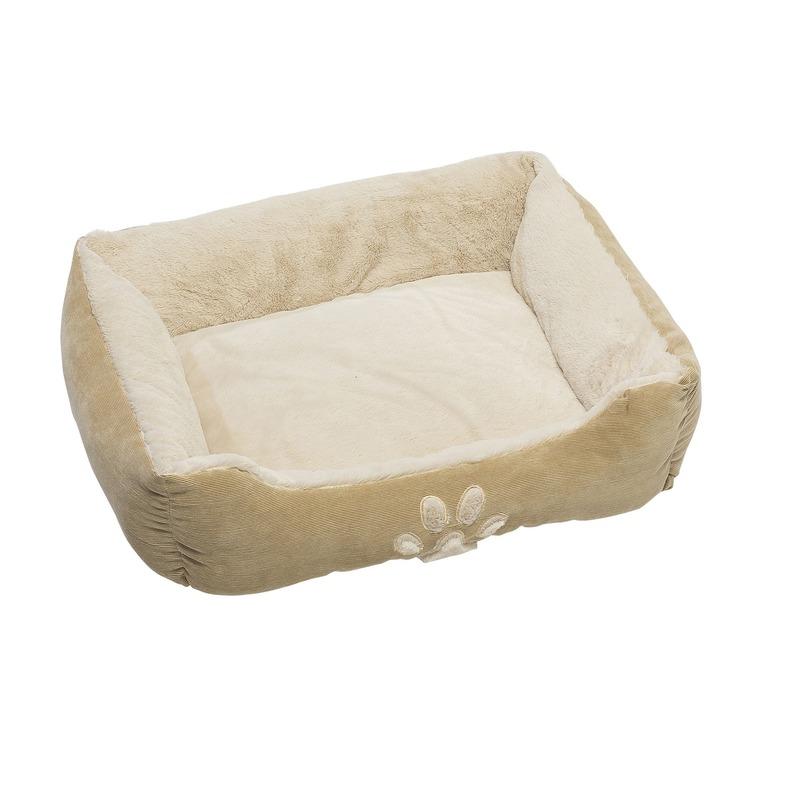 Beige hondenmand/hondenkussen 60 cm