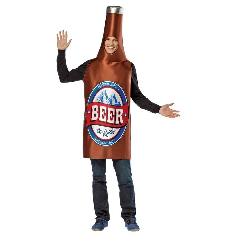 Bier fles pak/kostuum