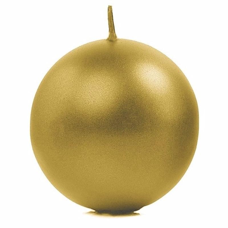 Bolkaars goud 8 cm