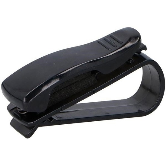 Bril clip/zonnebril klem voor auto zonneklep
