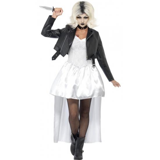 Bruid van Chucky kostuum