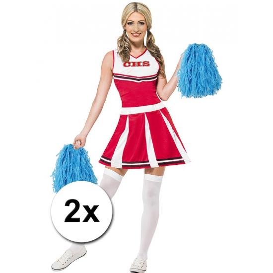 Cheerballs blauw 2 stuks