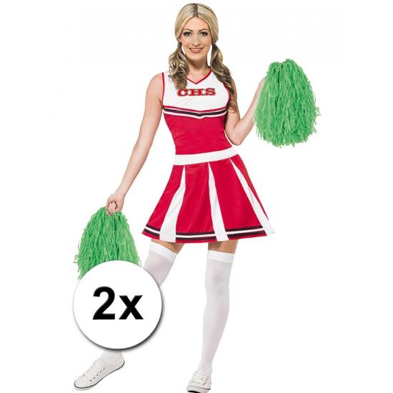 Cheerballs groen 2 stuks