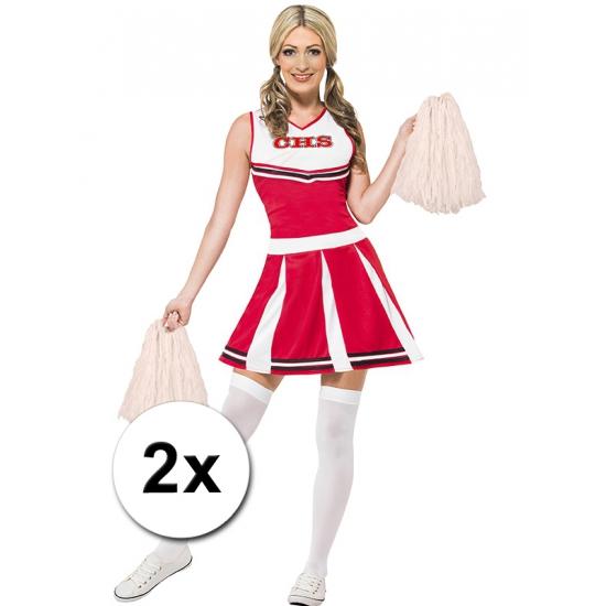 Cheerballs wit 2 stuks