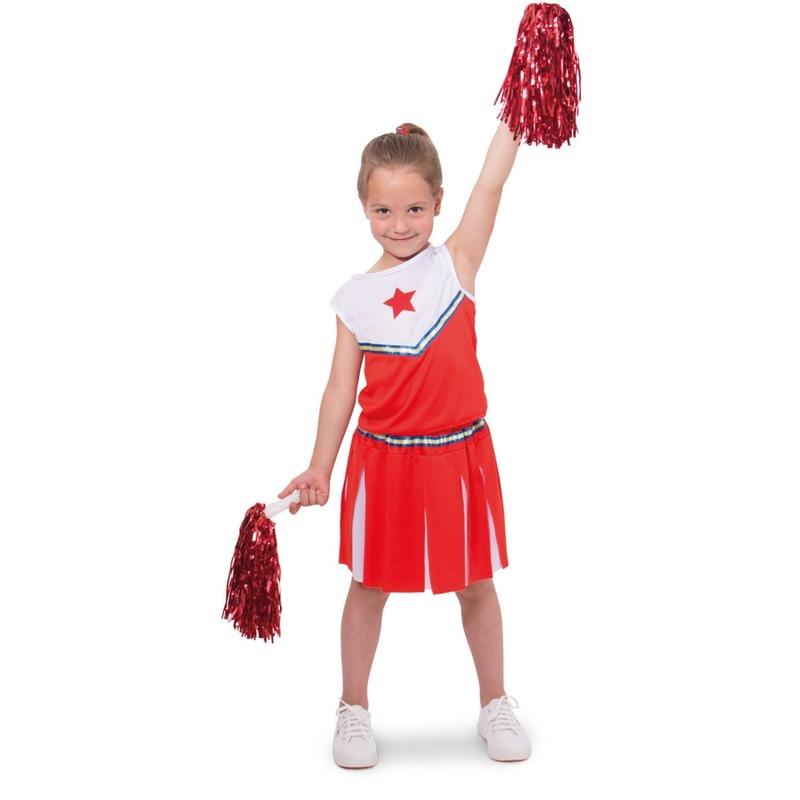 Cheerleader pakje verkleed kostuum voor meisjes