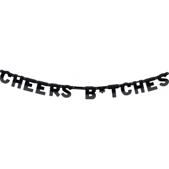Cheers Bitches letterslinger