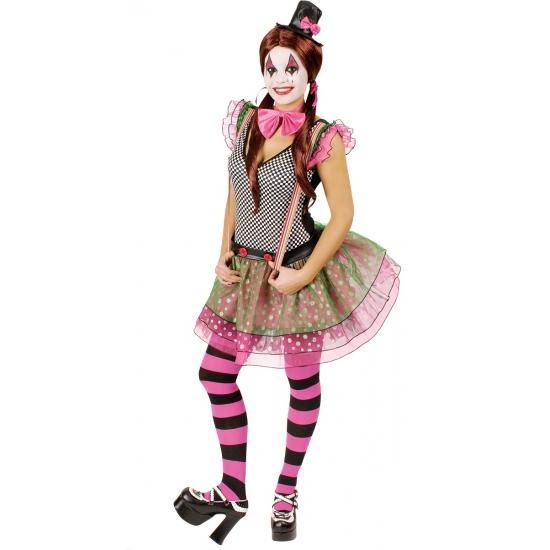 Clown Valentina jurkje voor dames