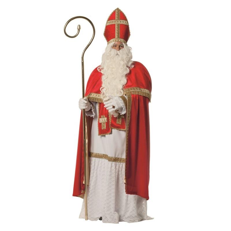 Compleet luxe Sinterklaas kostuum/pak voor volwassenen