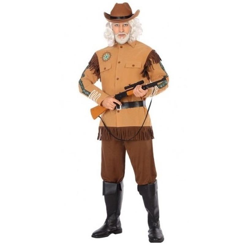 Cowboy/Western verkleed kostuum Wild Bill voor heren