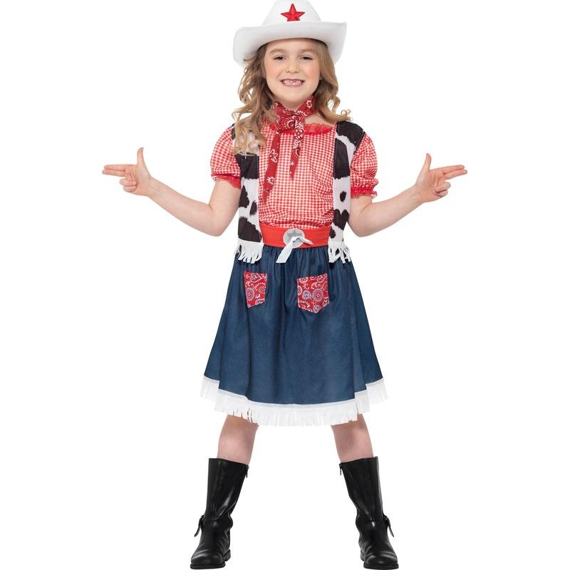 Cowgirl kinder kostuum