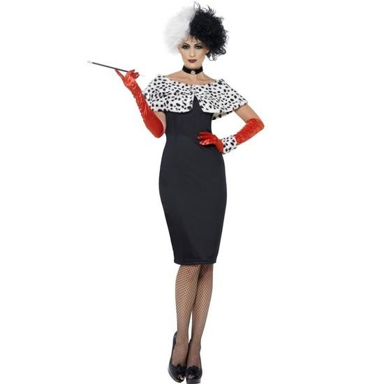 Cruella verkleed kostuum voor dames