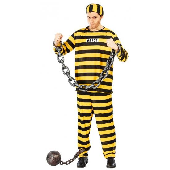 Dalton boeven halloween-carnaval kostuum voor volwassenen