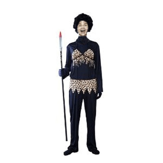 Dames kannibalen kostuum