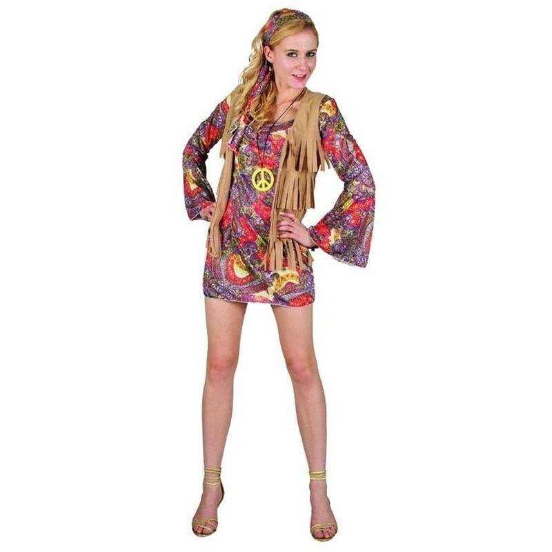Dames verkleed jurkje hippie