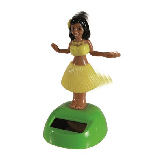 Dansend Hula meisje solar - Fopartikelen