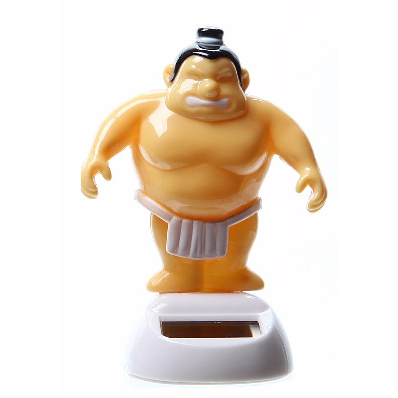 Dansende sumo worstelaar 10 cm solar - Fopartikelen