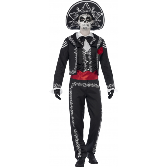 Day of the dead Senor Bones kostuum