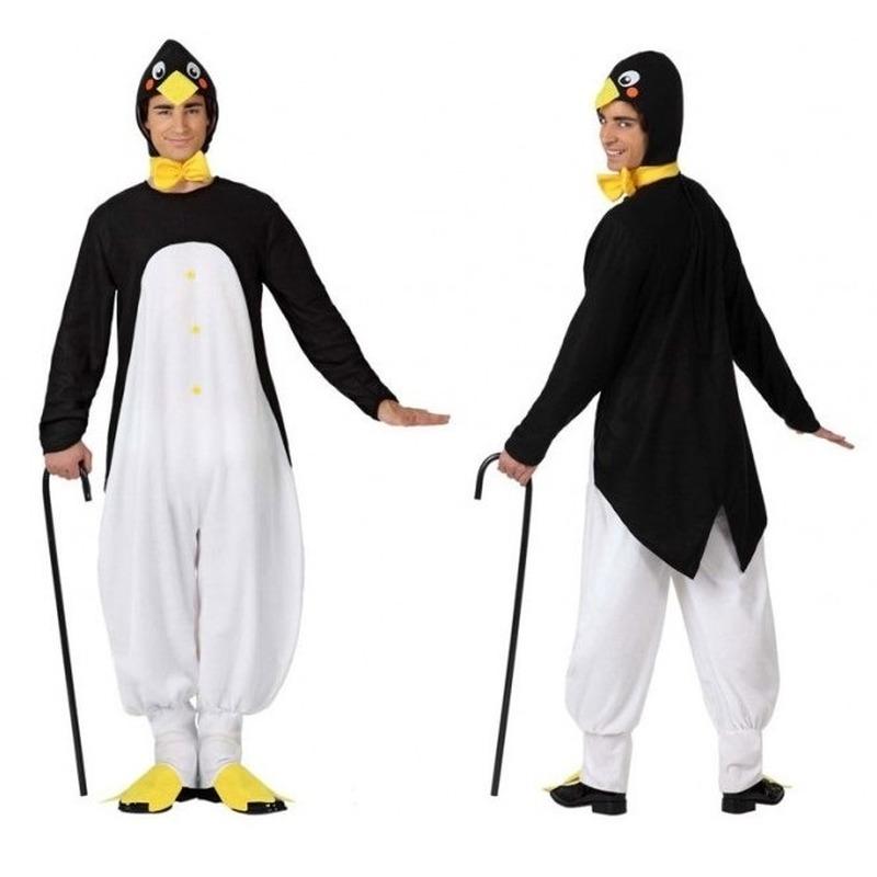 Dierenpak verkleed kostuum pinguin voor volwassenen