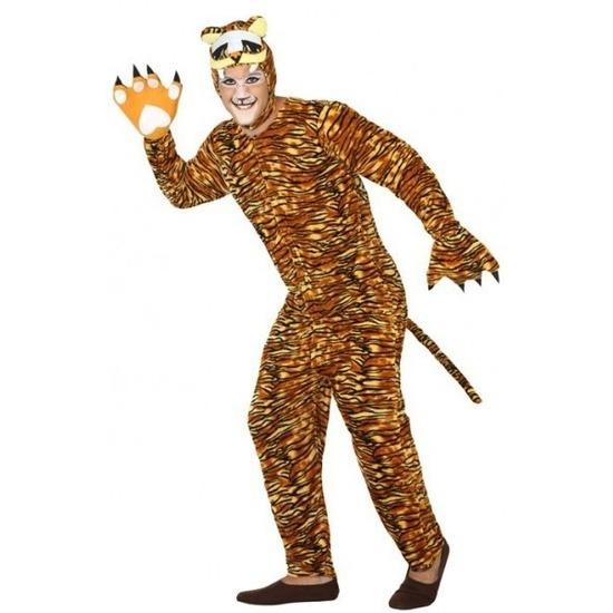 Dierenpak verkleed kostuum tijger voor volwassenen