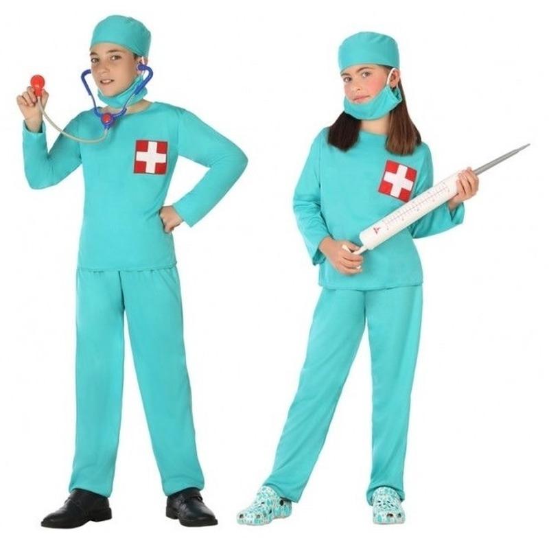 Dokter/chirurg verkleed kostuum voor jongens en meisjes