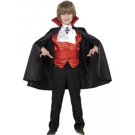 Dracula kinder kostuum 4 delig